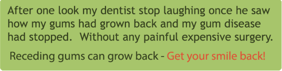 Natural Gum Regrowth Treatment Options